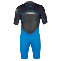 XCEL AXIS 2MM SPRINGSUIT ELECTRIC BLUE BLACK