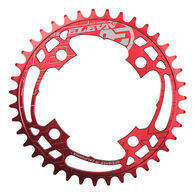 ELEVN 4-BOLT BCD 104MM CHAINRINGS (RED) - 36T