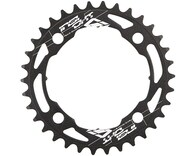 INSIGHT 104MM BCD 4-BOLT CHAINRING (BLACK) - 34T