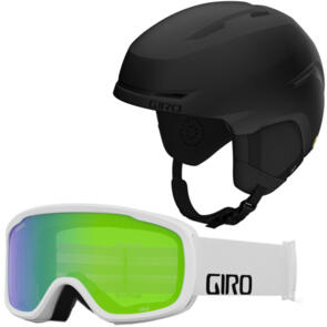 GIRO 2022 SPUR JR MIPS + ASIAN FIT WHITE GOGGLES