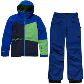 ONEILL SNOW YOUTH STATEMENT JACKET & ANVIL PANTS SURF BLUE