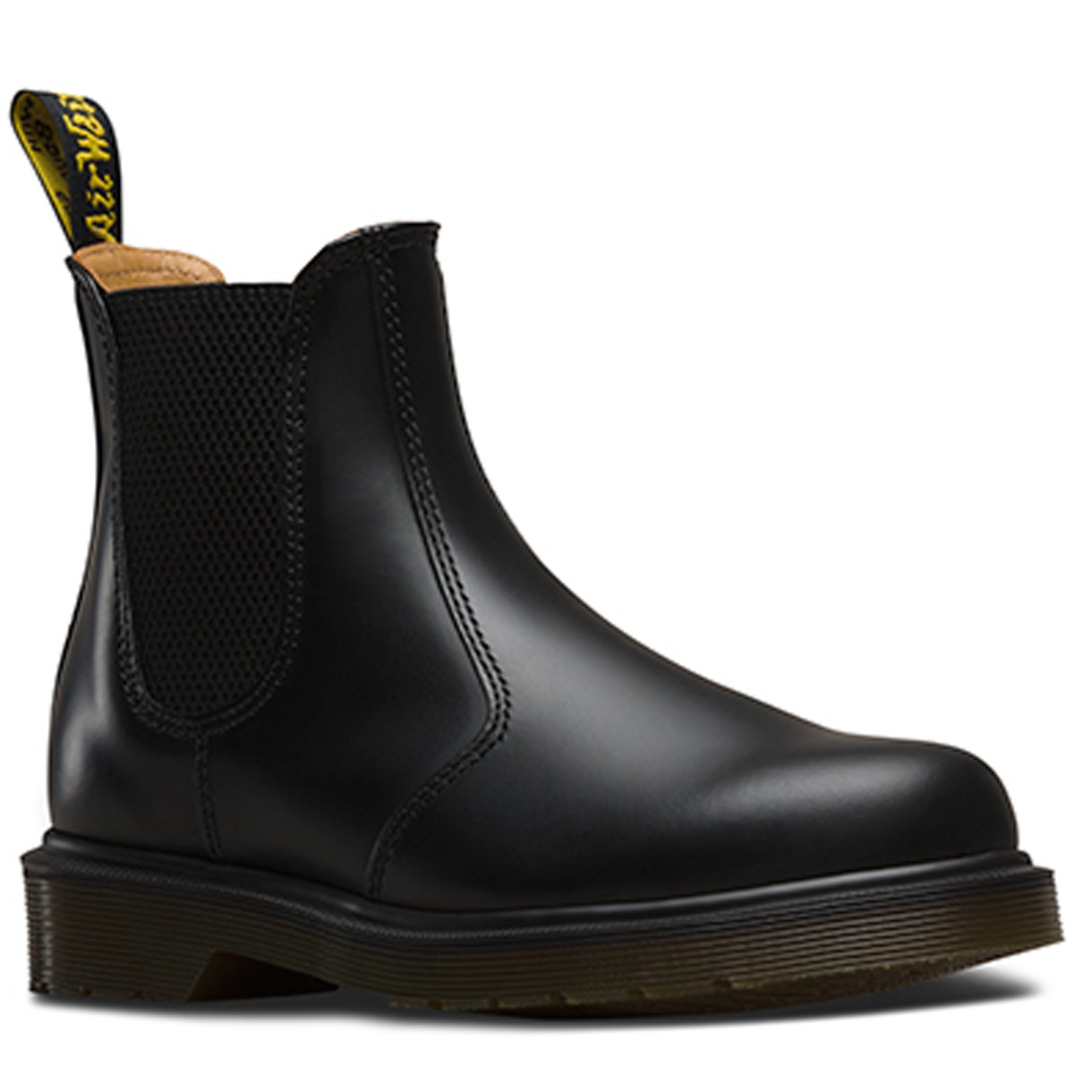 2976 Chelsea Boot Black Smooth