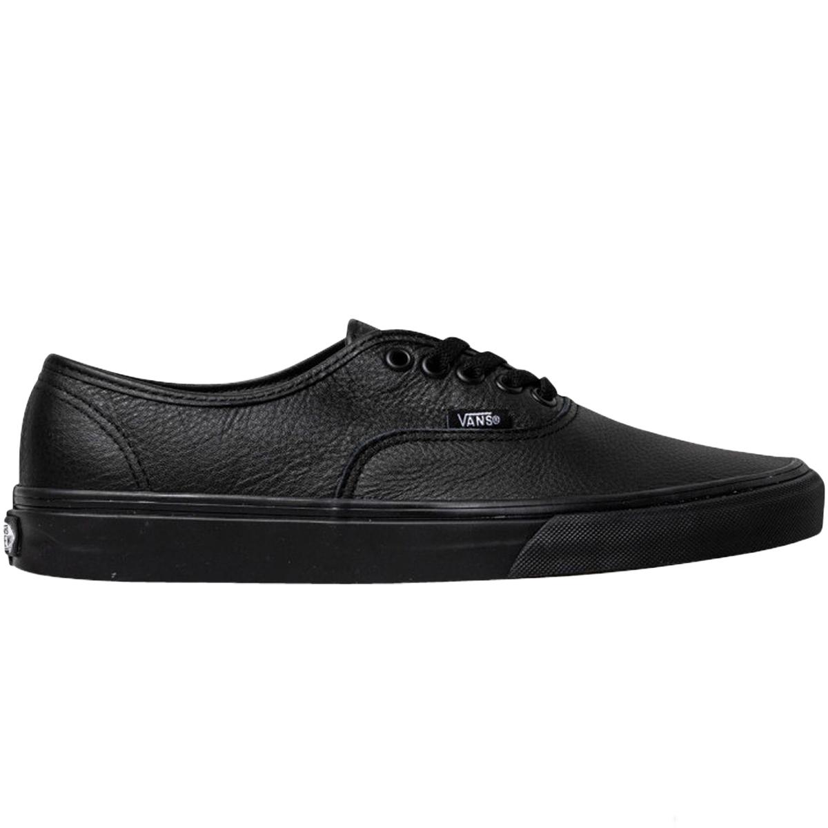 black leather vans nz