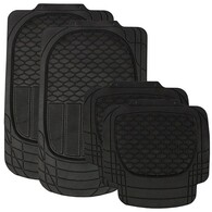 WILDCAT BLACK ALL WEATHER MAT 5 STAR SET 4