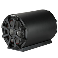 KICKER TB 10IN SUBWOOFER TUBE ENCLOSURE 400W RMS