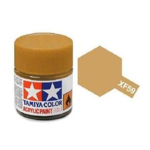 TAMIYA XF59 ACRYLIC 10ML DESERT YELLO