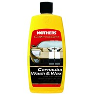 MOTHERS CALIFORNIA GOLD CARNAUBA WASH & WAX 473ML