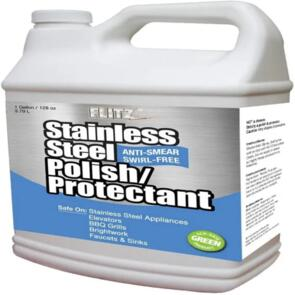 FLITZ STAINLESS STEEL POLISH AND PROTECT 128OZ