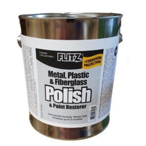 FLITZ POLISH PASTE METAL PLASTIC FIBREGLASS 3.6KG CAN