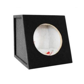 "DLG SUBWOOFER BOX FOR 10"" SINGLE SUB BLACK"