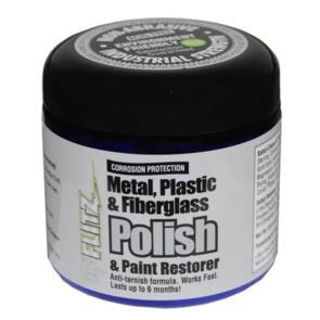 FLITZ POLISH PASTE METAL PLASTIC FIBREGLASS 453GM POT