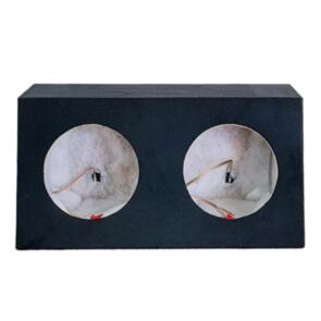 """DLG SUBWOOFER BOX FOR 2 X 10"""" SUB DOUBLE BLACK"""