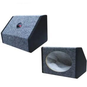 "DLG SPEAKER BOX 6 X 9"" BLACK / GREY PAIR"