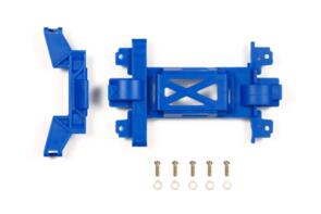 TAMIYA LTD MINI 4WD REINF GEAR COVER (MS) BLUE