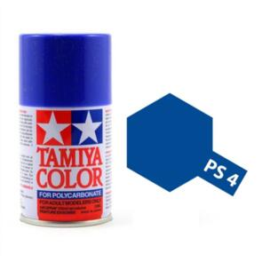 TAMIYA PS-4  POLYCARB SPRAY BLUE