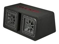 "KICKER L7 SERIES DUAL 12"" SUBS + SLOTPORT BOX 1200W RMS"