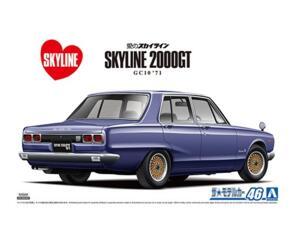 AOSHIMA 1/24 SKYLINE GT-R 2000 '71
