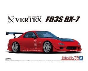 AOSHIMA 1/24 VERTEX FD3S RX-7 '99