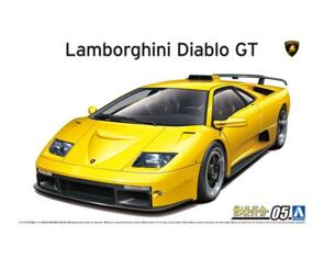 AOSHIMA 1/24 LAMBO DIABLO GT
