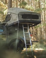 FELDON SHELTER CROW'S NEST EXTENDED ROOFTOP TENT - GREEN