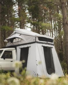 FELDON SHELTER CROW'S NEST FAMILY ROOFTOP TENT BUNDLE - GREY