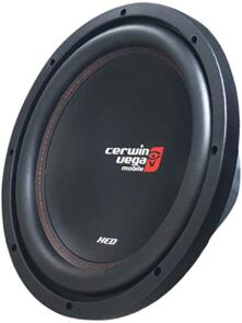 "CERWIN VEGA XED10V2 10"" 4 OHM SVC SUBWOOFER 125W RMS"