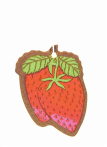 AIR FRESHENER PAPER STRAWBERRY