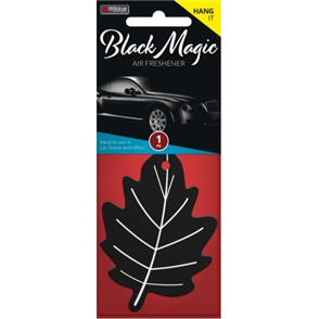 AIR FRESHENER LEAF BLACK MAGIC