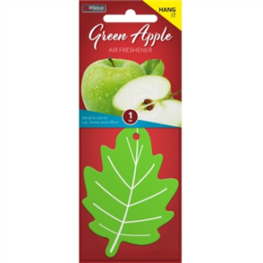 AIR FRESHENER LEAF GREEN APPLE
