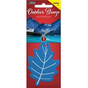 AIR FRESHENER LEAF OUTDOOR BREEZE PK3