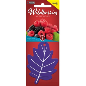 AIR FRESHENER LEAF WILDBERRIES PK3