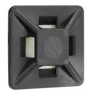 NARVA CABLE TIE MOUNTS BLK 19MM (100 PACK)
