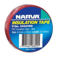 NARVA TAPE PVC RED GLOSS - 20M
