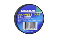NARVA FLEECE HARNESS TAPE BLACK 19MM - 20M