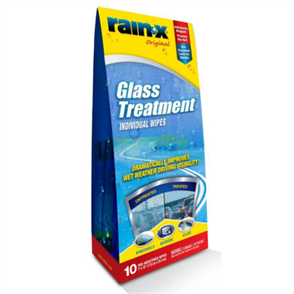RAIN-X RAIN REPELLENT WIPES PK10