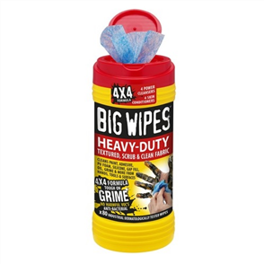 KENCO BIG WIPES HEAVY DUTY 4X4 TUB OF 80