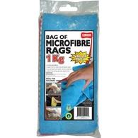 KENCO MICROFIBRE BAG OF RAGS 1KG