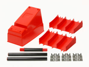 TAMIYA MINI 4WD J-CUP BANK SECTION - RED