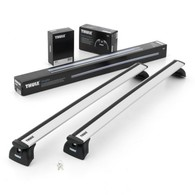 THULE WINGBAR EVO - VEHICLE W/ FLUSH MOUNT RAILS -SILVER