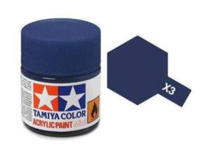 TAMIYA X3  ACRYLIC 10ML ROYAL BLUE