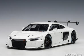 AUTOART 1/18 AUDI R8 LMS PLAIN COLOUR VERSION WHITE
