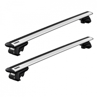 THULE WINGBAR EVO - VEHICLES WITH RAISED RAILS - SILVER