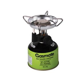 GASMATE BACKPACKER BUTANE STOVE WITH PIEZO
