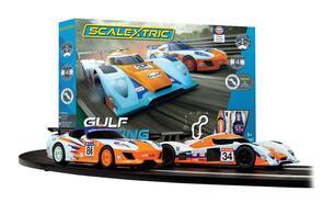 SCALEXTRIC C1384 GULF RACING SET