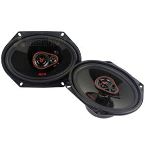 "CERWIN VEGA H7683 HED 6X8"" 3 WAY COAXIAL SPEAKERS PAIR 360W"