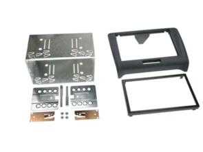 CONNECTS 2 FITTING KIT AUDI TT 2006 - 2015 DOUBLE DIN (WITH CAGE) BLACK