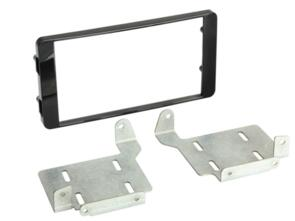 CONNECTS 2 FITTING KIT MITSUBISHI ASX 2014 ON DOUBLE DIN (GLOSS BLACK)