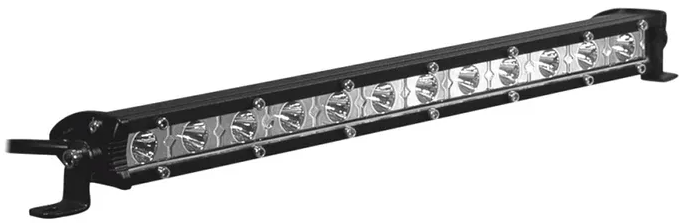 METRA DAYTONA LIGHTBAR SINGLE ROW LED 13.5""