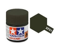 TAMIYA XF51 ENAMEL KHAKI DRAB