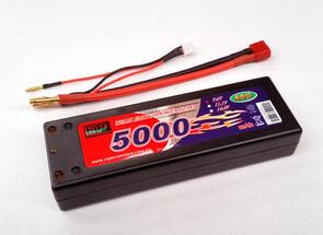 ENRICHPOWER BATTERY LIPO 7.4V 5000MAH 2S 40C DEANS PLUG